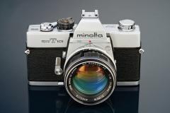 Minolta SRT 101 with MC Rokkor 58mm 1.4