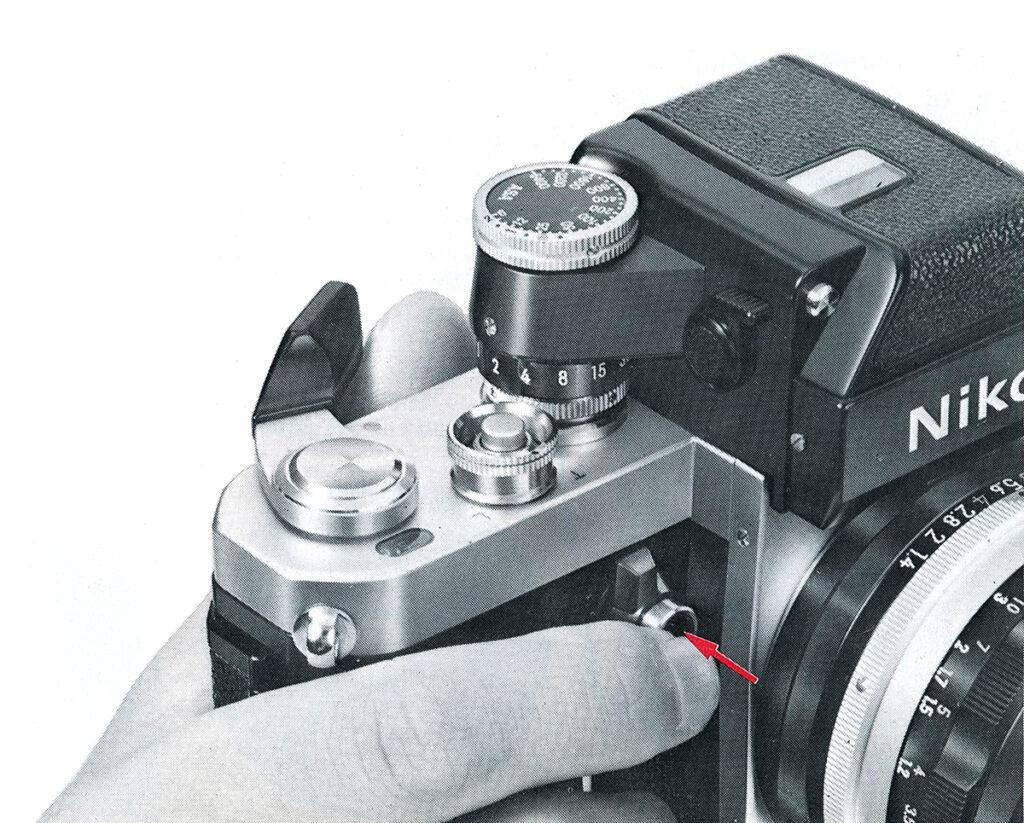 Nikon F2 Depth-of-Field Preview Button