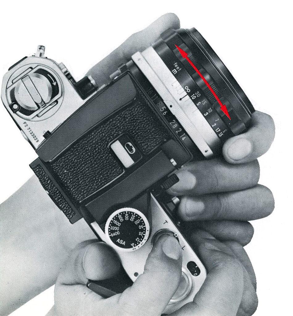 Nikon F2 Focusing