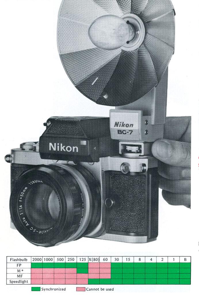 Nikon F2 Flash syncronization