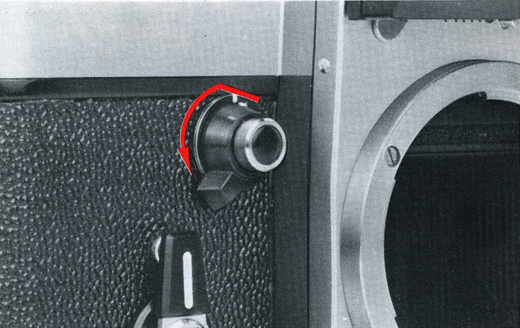 Nikon F2 Mirror lock