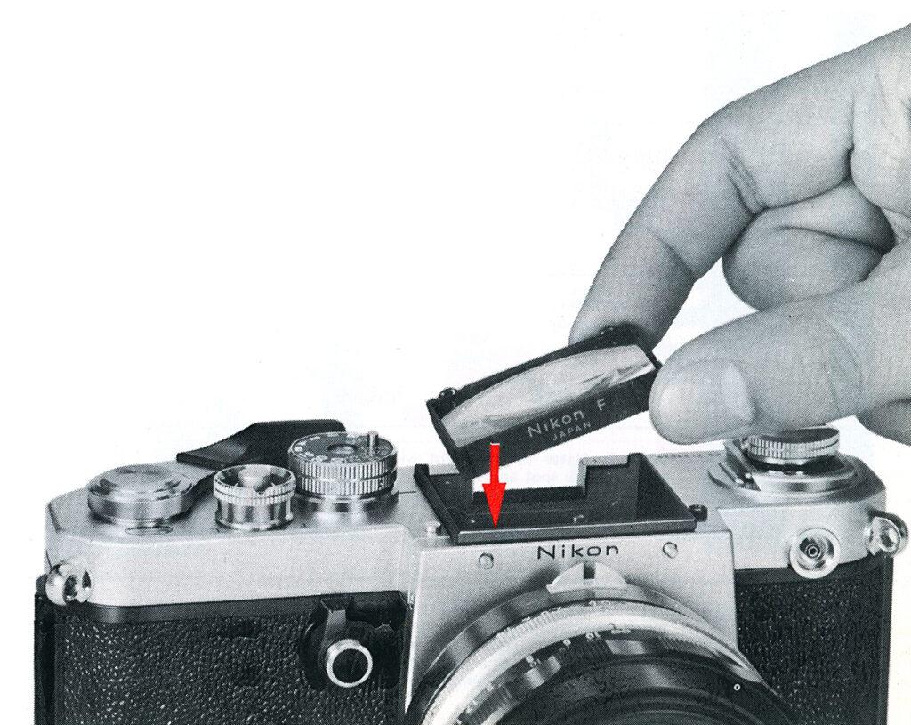 Nikon F2 Nikon F2 CHANGING THE FOCUSING SCREEN
