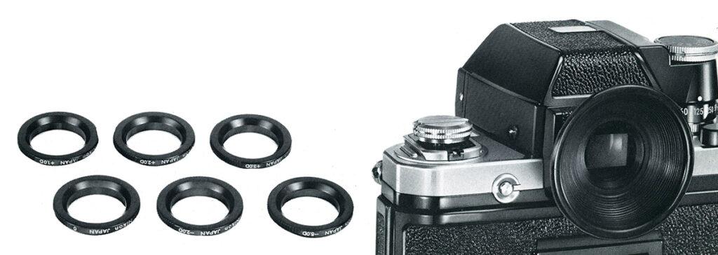 Nikon F2 Eyepiece Correction Lenses