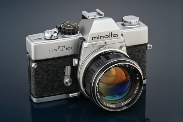 Minolta SRT 101 with MC Rokkor 58mm 1.4